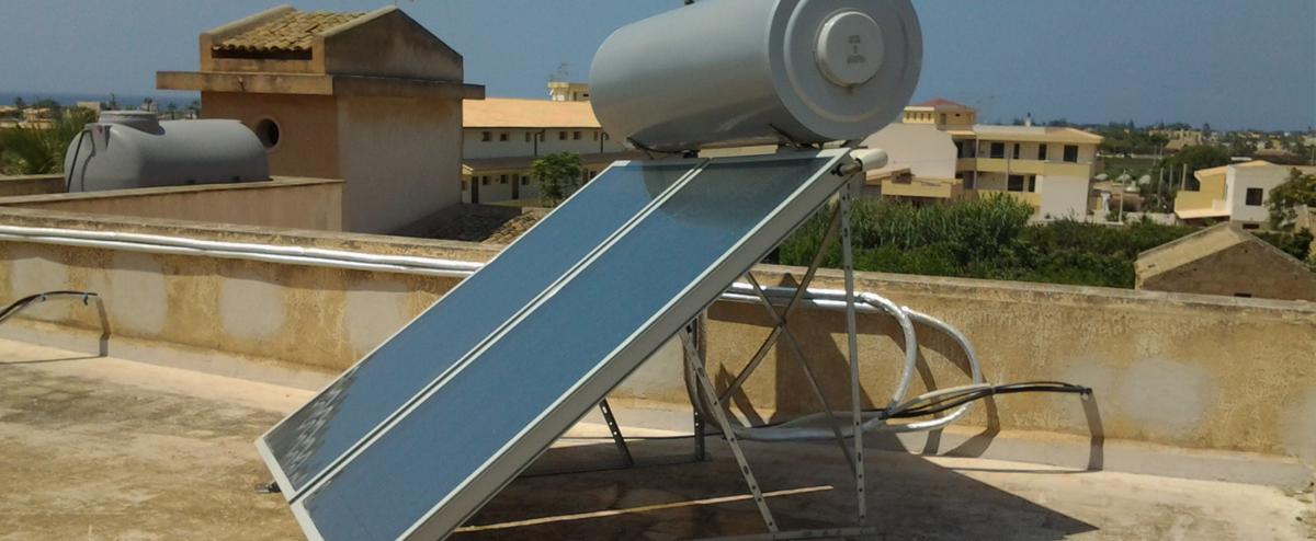 Paceco-Solare_Termico_Glicole_200_4mq_installazione Impianti realizzati Paceco